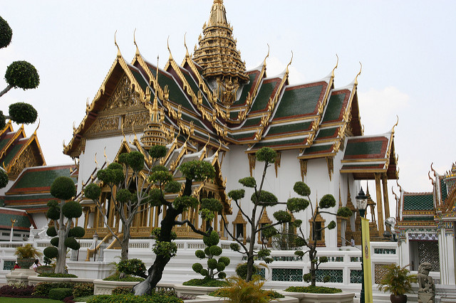 The Grand Palace is one of the best places to visit in Thailand and most popular tourist destinations in Thailand