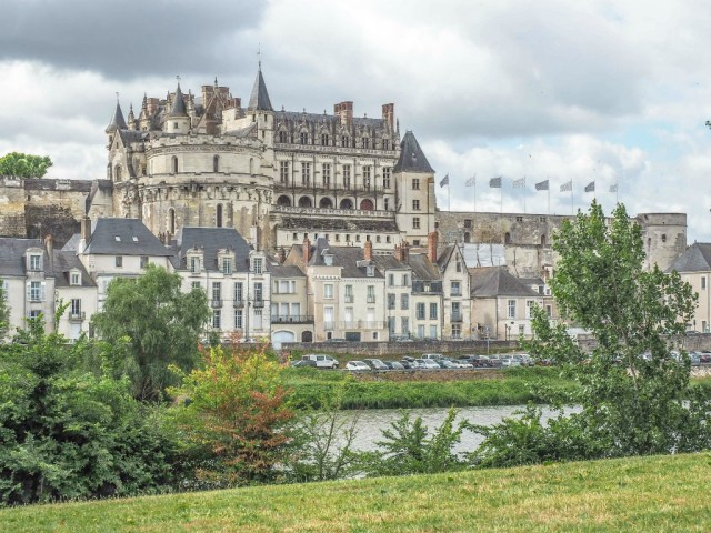 Amboise is one of the best towns in the loire valley