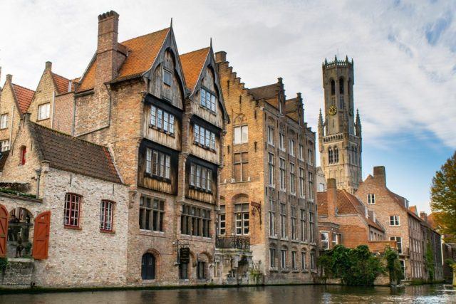 Bruges, Belgium is one of the most beautiful cities in Europe