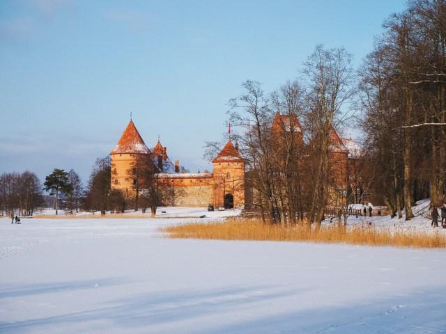 trakai castle Vilnius Lithuania