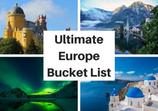 Ultimate Europe Bucket List