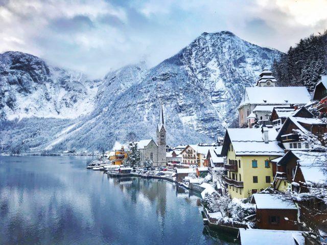 Hallstatt Austria is one of the most beautiful European fairytale towns