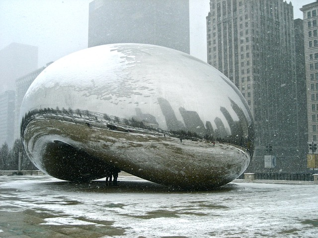 bean in winter best season to visit Chicago