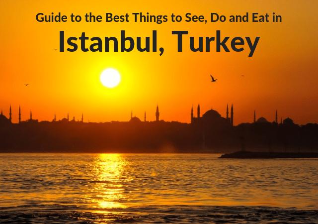 3 Days in Istanbul Turkey itinerary