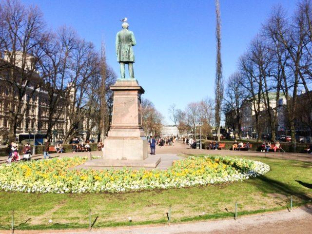 Esplanadi park helsinki travel blogs