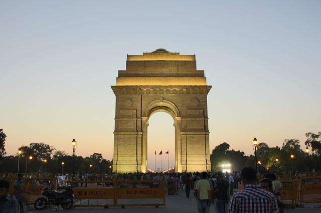 India Gate 36 hours in New Delhi