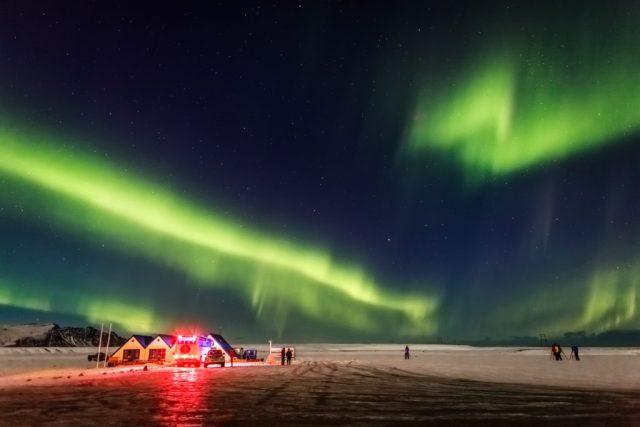 northern lights iceland bucket list