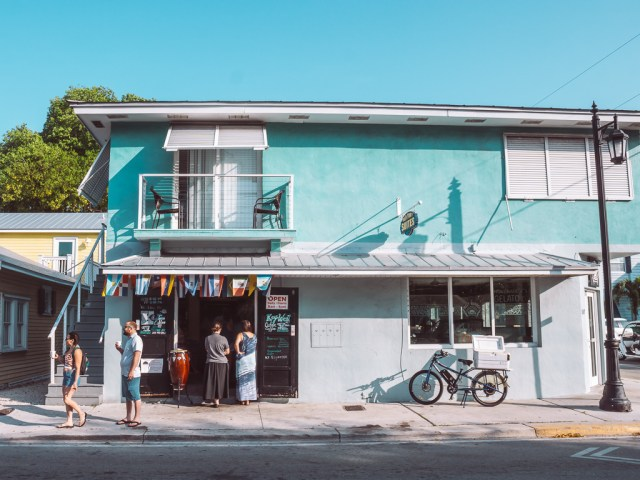 Exterior of Key West Cuban Coffee