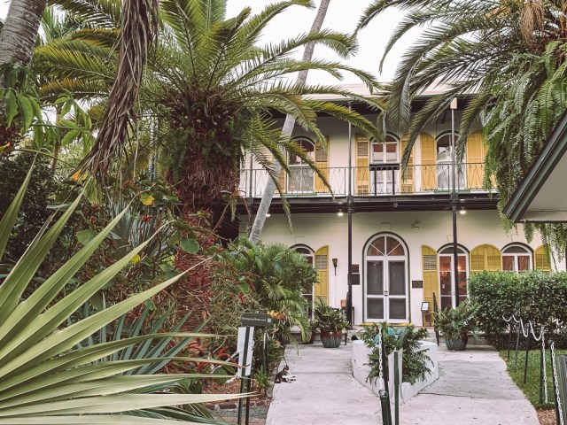Front of Hemingway House