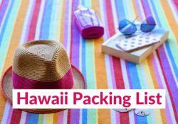 Hawaii vacation packing list