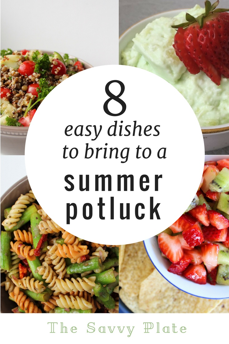 8 Easy Summer Potluck Recipes