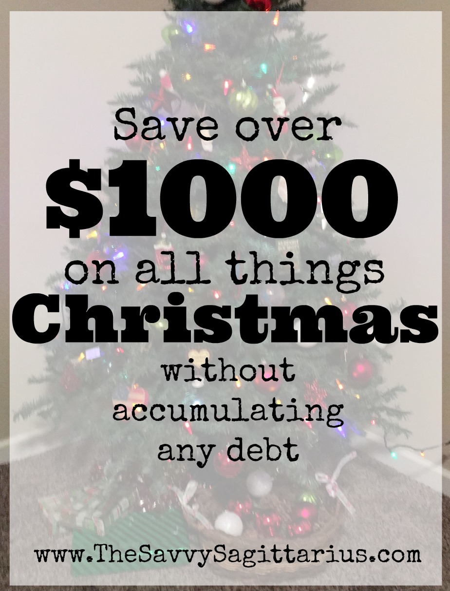 """Christmas is supposed to be the happiest time of the year. """"Joy to the World."""" """"Happy Holidays"""" and all of that, but if you aren't careful with December's Christmas budget, than January's credit card statement can be oh so frightful! Here are a few ways to make sure that you don't break the bank for your Holiday cheer!"""