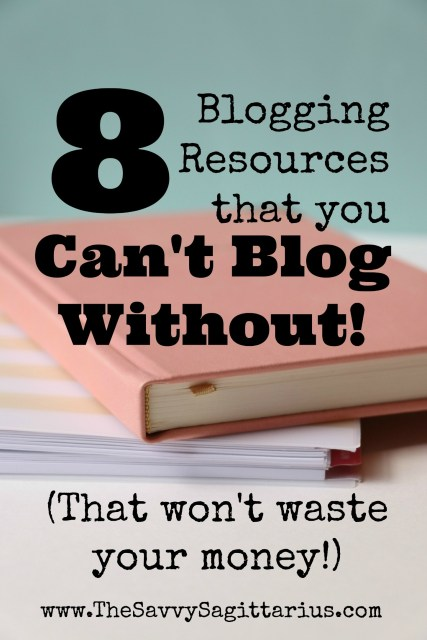 Have you started a blog, but feel totally lost on where to go now? Or maybe you have been thinking about starting a blog, but there are just too many things out there that you don't know where to start. Here are the 8 most important resources that you need to get your blog started!