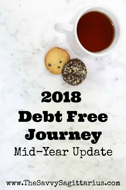 2018 has been a roller coaster of events! I have paid off over $11,000 on my loans have been coasting along on this debt free journey. Read about it here...