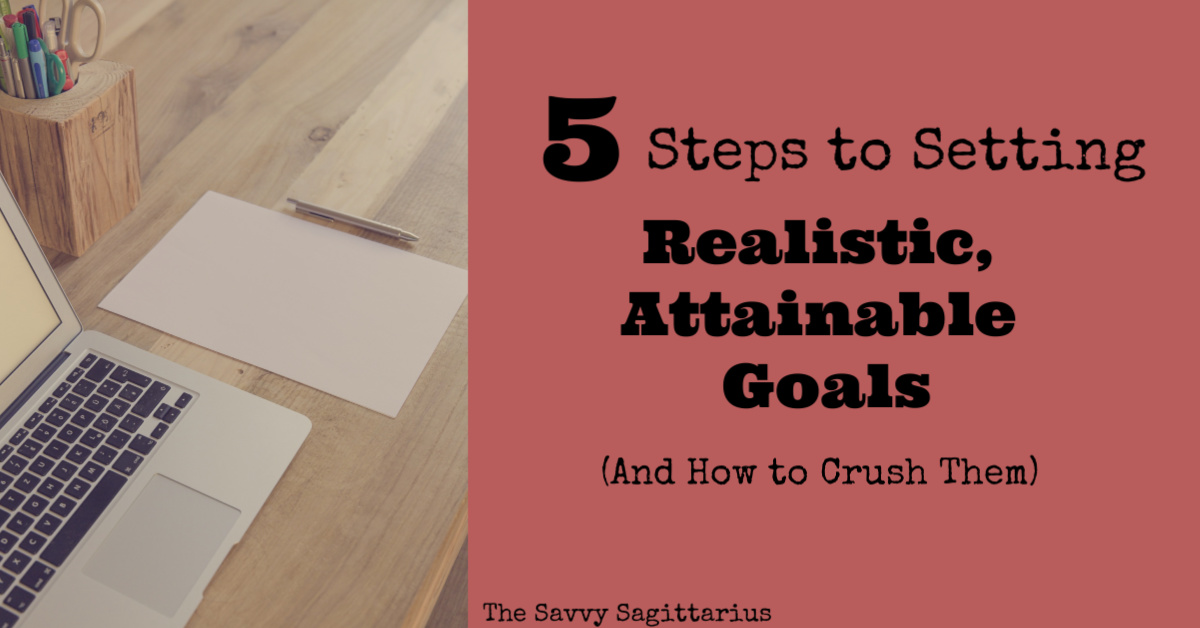 How easy is it to set goals and then totally forget about them! Check out this guest blog post from Daily New Year's Blogger, Austin for 5 steps to creating those realistic, attainable goals!