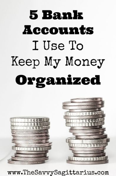 Having separate bank accounts at different banks may seem complicated, but it is one of the best ways to keep your money organized and where it needs to be!