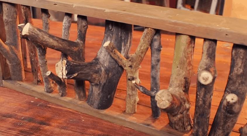 Rustic DIY Coat Rack