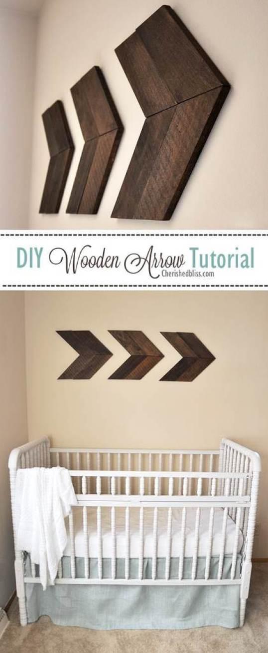 Wooden arrow project