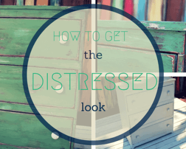 HOW TO GET THE DISTRESSED LOOK