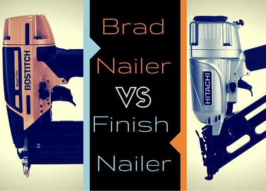 Brad Nailer vs Finish Nailer – Discover The Difference
