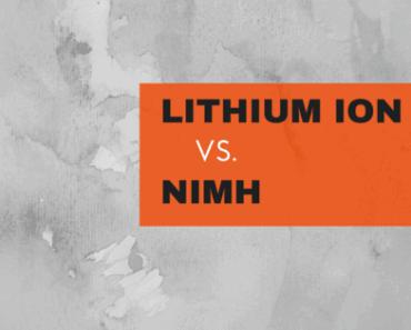 lithium ion vs. niMh