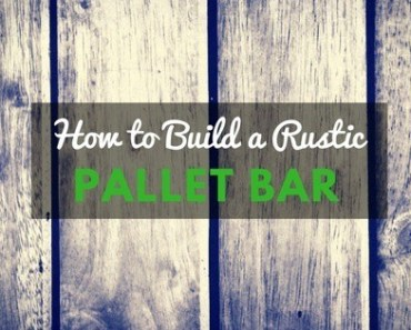How to build a bar out of pallets