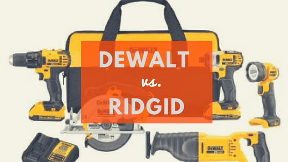 dewalt vs ridgid