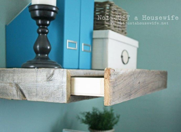 Rustic Shelves DIY Project