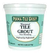 #1 Pick For Best Grout For Shower Tile: Perma Tile Waterproof Tile Grout