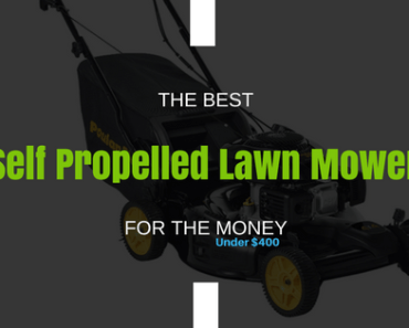 the best self propelled lawn mower