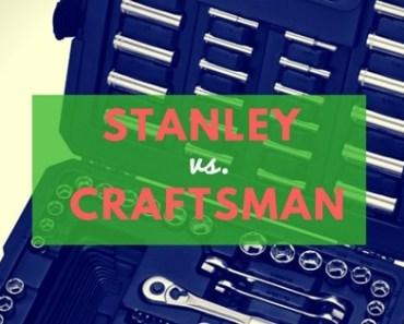 Stanley vs Craftsman