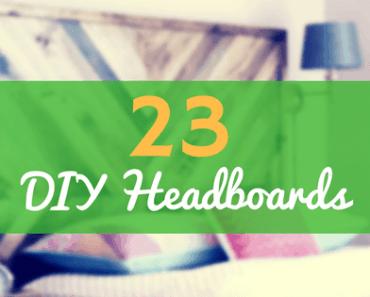 DIY headboard ideas