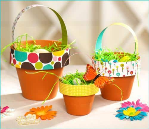 Make Your Own Simple Easter Baskets