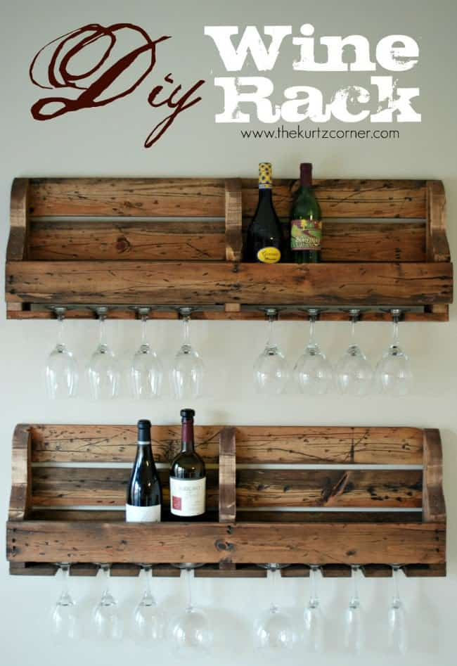 Wine Rack Pallet Shelf