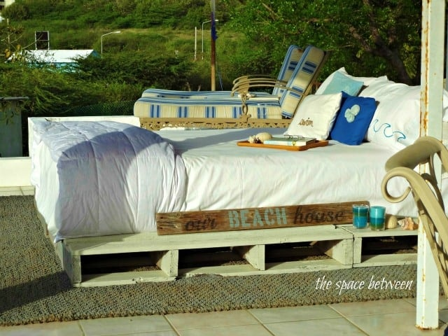 No Fuss Pallet Bed