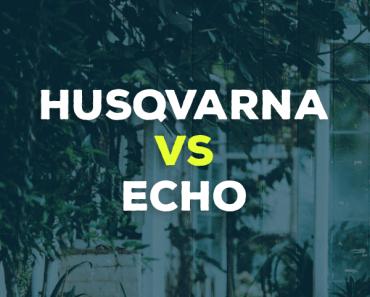 Husqvarna vs. ECHO