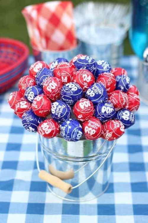 DIY Patriotic Centerpiece