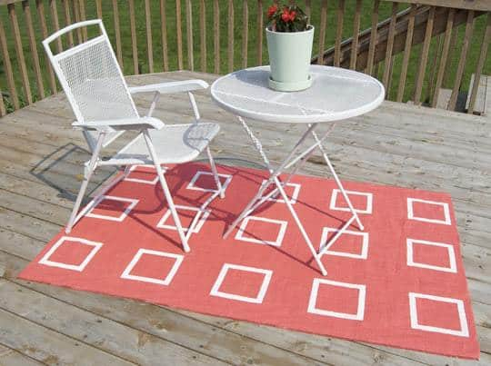 Quick And Easy Outdoor Rug