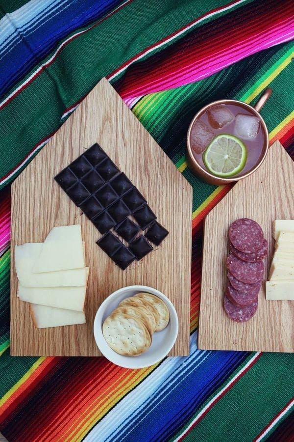 Wooden Cutting Board Welcome Gift
