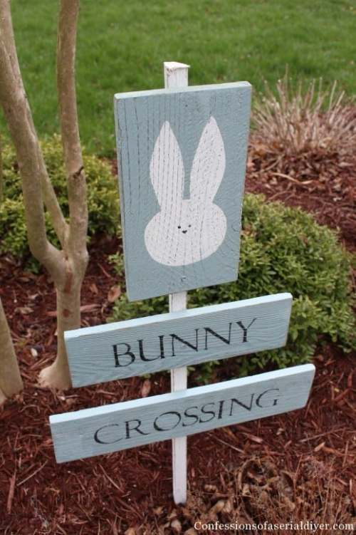 Easy Bunny Sign