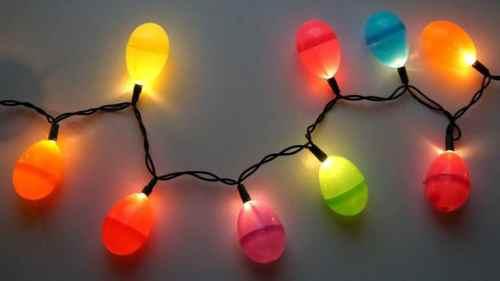 DIY Easter Egg Lights