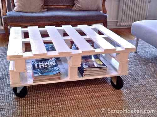 7-Step Pallet Coffee Table