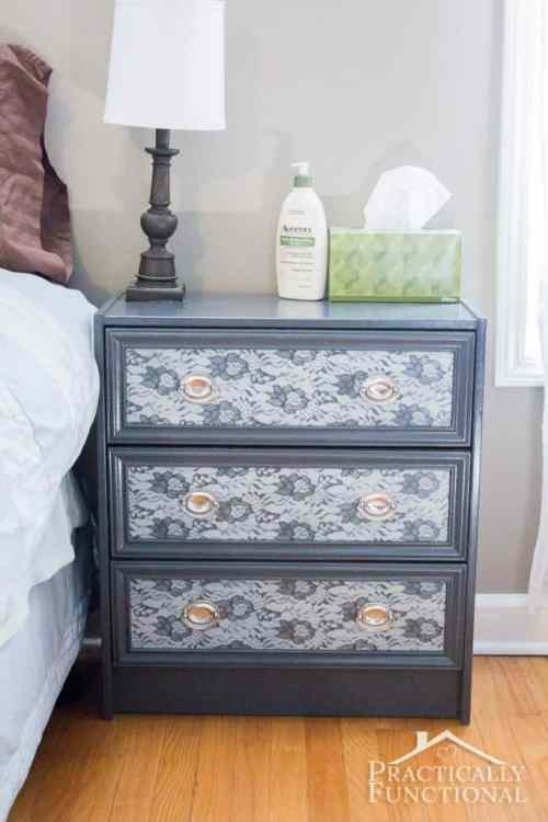 DIY Painted End Table