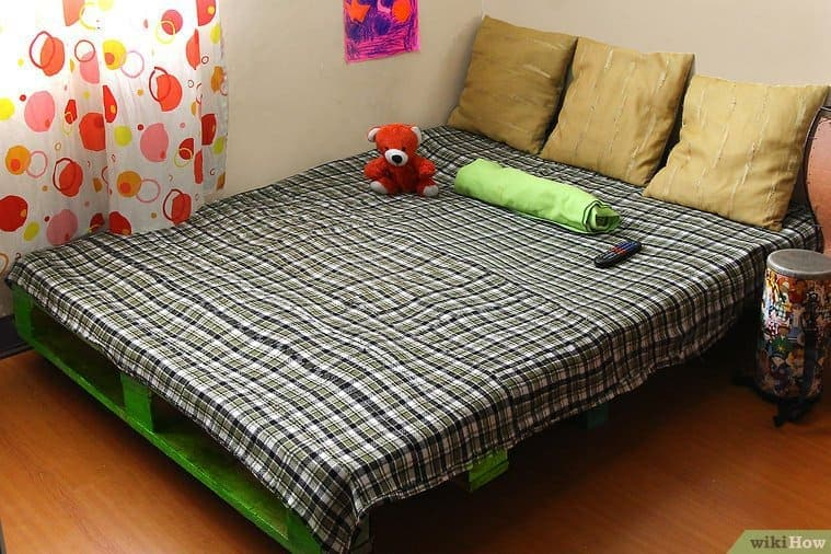Classic Pallet Bed Frame
