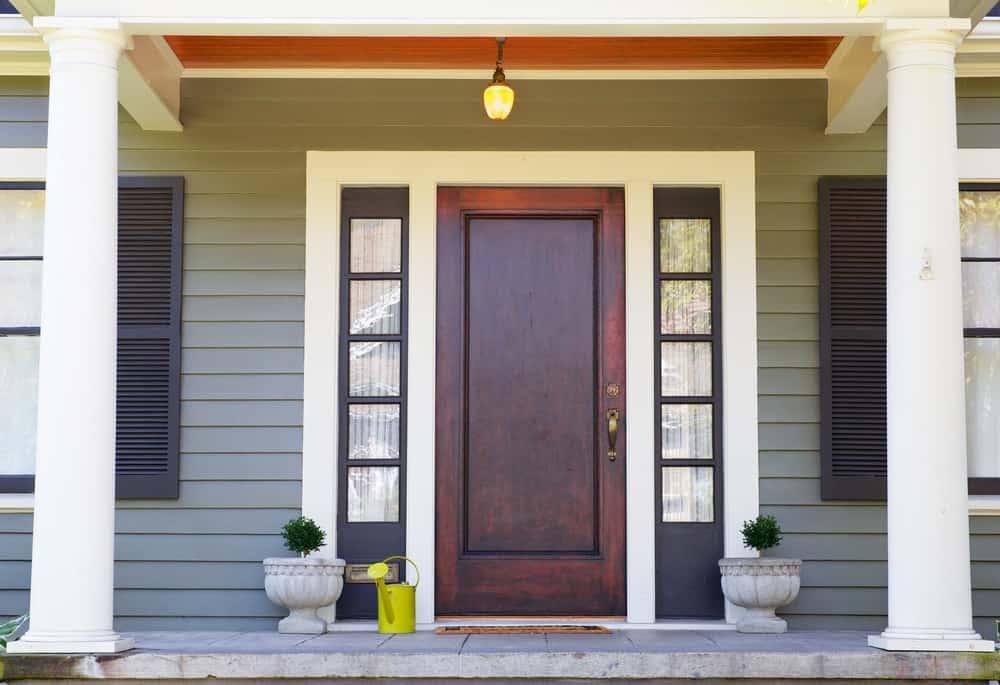 solid wood door frame windows