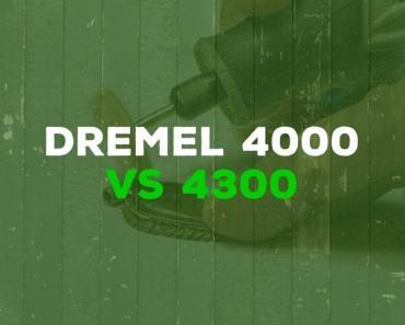 Dremel 4000 vs Dremel 4300