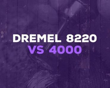 Dremel 8220 vs 4000
