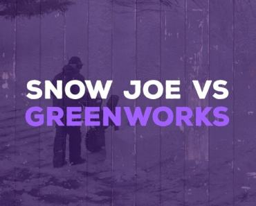 Snow Joe & Greenworks