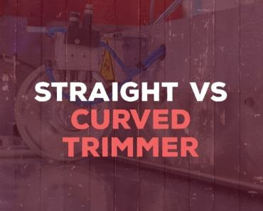 Straight vs Curved Trimmer