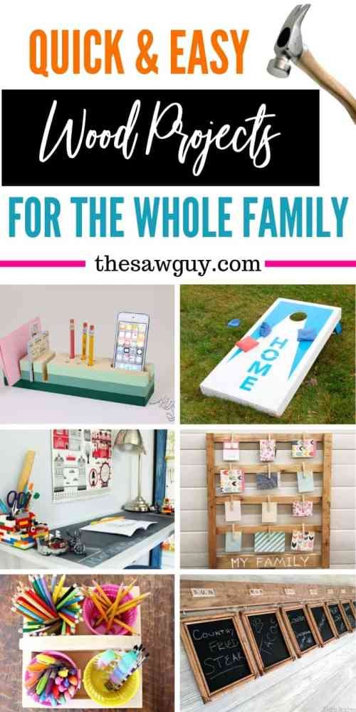 Quick and easy wood project for the whole family